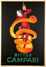 Italian Bitter Campari 1921 Cappiello Liquor Advertising Canvas Print 20x29