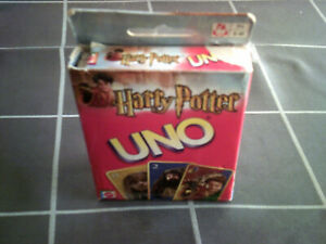 HARRY POTTER UNO card set - collectible card game