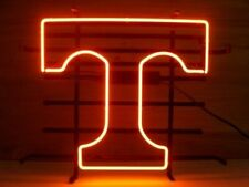 """New T Tennessee Neon Light Sign 17""""x14"""" Lamp Decor Beer Bar Glass"""