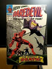 Daredevil #20 Marvel Silver Age Comics (1966) by Stan Lee & Gene Colan The Owl
