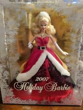 2007 Holiday Barbie Doll Collector edition Never Opened Mattel Beautiful Rare
