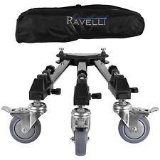 Ravelli ATD Trépied Professionnel Dolly pour photo et caméra vidéo