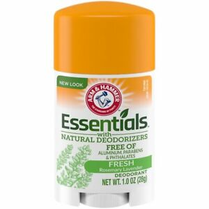 Arm & Hammer Essentials Natural Deodorant Fresh Rosemary Lavender (Lot Of 4)