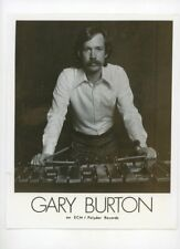GARY BURTON Four-Mallet Jazz Vibraphonist - Vintage Original 1970s Press Photo