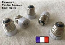 Lot de 2 adaptateurs douille E27 male  MR16 femelle pour ampoule culot neuf 8-31