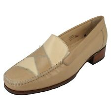 Ladies Redwood size UK 7.5 EE fitting beige multi leather uppers by Equity £9.99