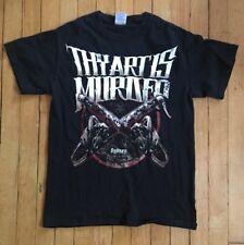 Thy Art Is Murder T-Shirt band shirt Sydney heavy metal size small adult