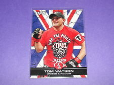 2013 Topps UFC Bloodlines TOM WATSON #107 Flag Variant/188 United Kingdom - KONG
