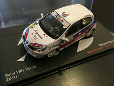 RENAULT CLIO R3 ADRUZILLO LOPES RALLY VILLA VERDE 2010 RALLY WRC IXO ALTAYA 1/43