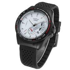 Winner Mens Luxury Military Automatic Mechanical Silicone Men Sport Wrist Watch
