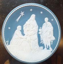 Villeroy & Boch Weihnachtsteller 1978 Die heiligen 3 Könige limitiert Stempel