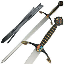 Black Prince Edward of Woodstock Medieval Crusader Knight Renaissance Sword