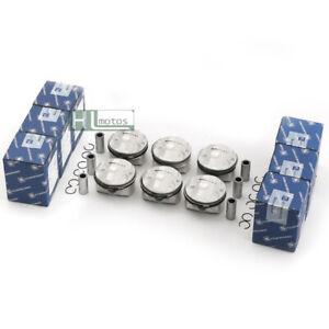 KS 6x Pistons Rings Set Φ82mm 11:1 STD for BMW 525i E61 E91 E92 N52B25 2.5L L6