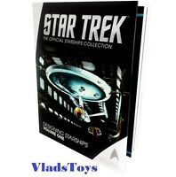 Star Trek Designing Starships Reference Book  Vol.1 Eaglemoss hardcover
