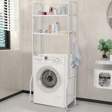 2 Tire Over The Toilet Home Bathroom Space Saver Organizer Storage Towel Rack US