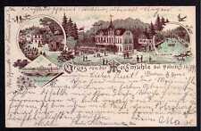 82212 AK Meixmühle Pillnitz 1895 Vorläufer Gasthaus Gondelteich