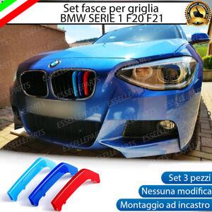 BMW SERIE 1 F20 F21 2011 AL 2014 COVER PER GRIGLIA IN STILE M SPORT AD INCASTRO
