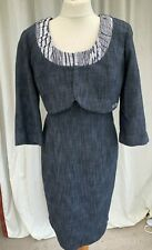 Nueva -  Two Piece Dress & Bolero Jacket Size 14