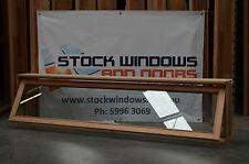 Timber Awning Window 450h x 1840w - Double Glazed  (BRAND NEW IN STOCK)
