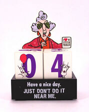 "Hallmark Maxine Calendar ""Have A Nice Day, Just Don't Do It Around Me!"""