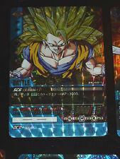 DRAGON BALL Z DBZ DATA BAKURETSU IMPACT CARD CARDDASS PRISM CARTE DB-418 G->EX