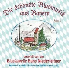 Hans Niederleitner - Die schönste Blasmusik aus Bayern (CD)
