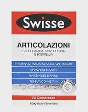 SWISSE ARTICULACIONES con VITAMINA C 50 Comprimidos