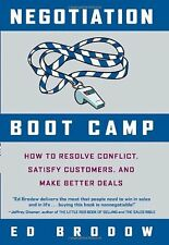 Negotiation Boot Camp: How to Resolve Conflict, Sa