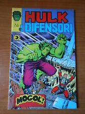 HULK E I DIFENSORI n.4 ed. CORNO - fumetto super-eroi
