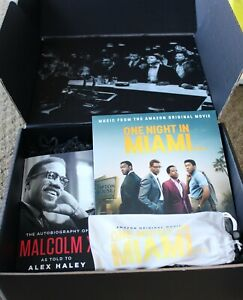 ONE NIGHT IN MIAMI OFFICIAL PROMO PROMOTIONAL PRESS KIT LP GLASSES BOOK
