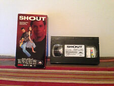 Shout (VHS, 1992) tape & sleeve