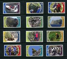 Tristan da Cunha 2010 Conservation Set MNH SG 993/1004 Cat £45