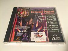Extreme Pinball PC CD-Rom Volume 8 - MegaMan X + Earthworm Jim,etc Game Complete