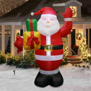 Inflatables Santa Claus Giant Christmas Airblown Outdoor Yard Garden Decoration