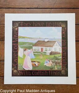 Cape Cod Wives Print by Liz Mumford