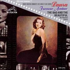 David Raksin Conducts CD Laura Forever Amber Bad & the Beautiful dolby surround