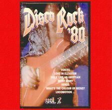 """COMPILATION """" DISCO ROCK '80 VOL.2 """" MUSICASSETTA NUOVA  DI NEGOZIO"""