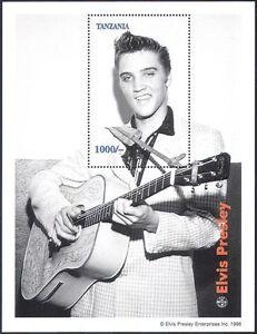 Tanzania 1992 Elvis Presley/Music/Film/Cinema m/s ref:b3615