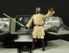 "Hasbro Star Wars 3.75"" Figure 1:18 Jedi Council Master Mace Windu 2011 K650"