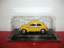 VW volkswagen beetle coccinelle rio de janeiro 1985 taxi 1/43