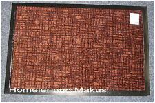Abtreter Fußmatte Schmutzfangmatte  80 x 120 cm Dunkel Braun Neu