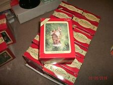 "1994 Carlton Cards ""UP ON THE HOUSETOP""(Santa On Top Of House)Lighted Ornament"