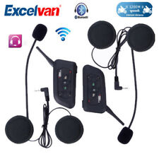 2X V6-1200M Bluetooth BT Motorcycle Helmet Interphone Headset Intercom Best Gift