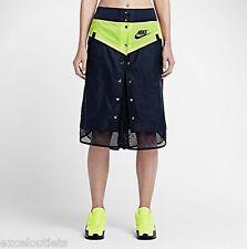 NWT! NikeLab x Sacai Windrunner WMN's Skirt Sz L 717221 451 (#2701)