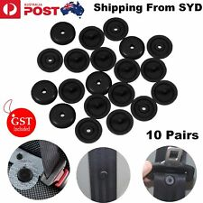 10Pairs Car Clips Seat Belt Stopper Buckle Holder Fasteners Stop Button Universa