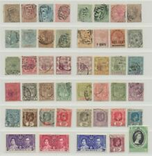 Mauritius Small Collection of 51 Early Stamps including Revenues MH/Used