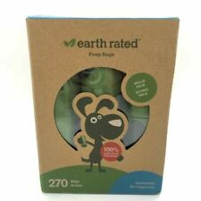 Earth Rated 270 Count Dog Waste Bags Unscented Poop 18 Refill Rolls