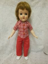 "14.5 "" Vintage Ideal Toni Doll P90 Ash Brown Hair , Green Sleep Eyes"