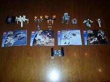 LEGO STAR WARS 4484-4485-4486-4487 MINI