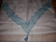 2 Tende Douceur d'Intérieur Bianche decorate in Azzurro 60 x 160 cm